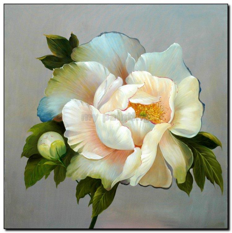 Iets Nieuws Schilderij bloemen monique - mypainting &NI61