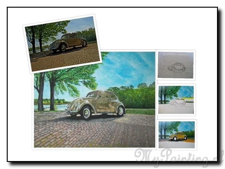 Voorbeelden schilderijen van auto 39 s mypainting - Foto van slaapkamer schilderij ...