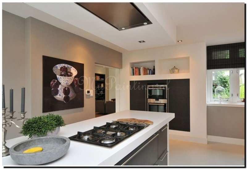 Een schilderij in de keuken mypainting - Vergroot uw keuken ...